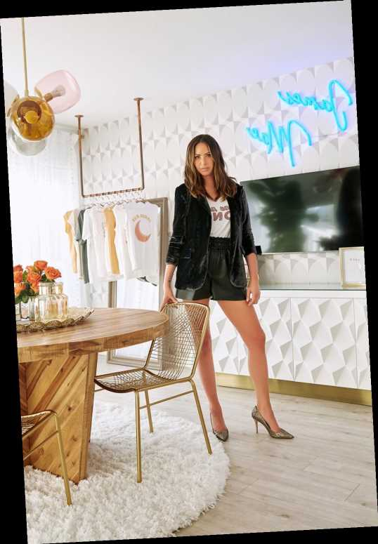 See Vanderpump Rules' Kristen Doute's '70's Chic' Home Office Makeover